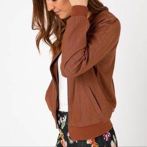 NWT Agnes & Dora Bomber jacket, size XS